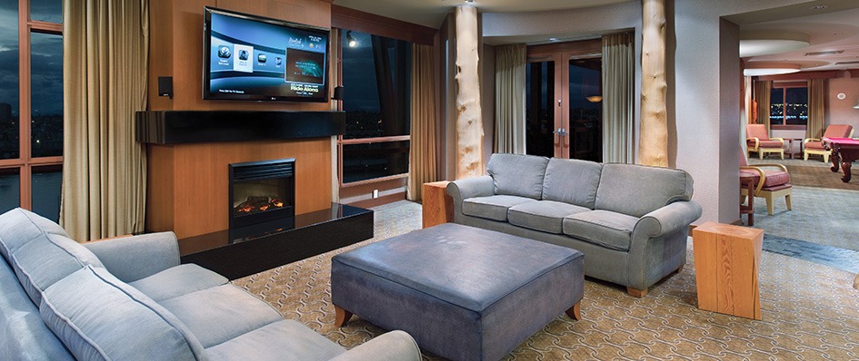 The Presidential Suite River Rock Casino Resort