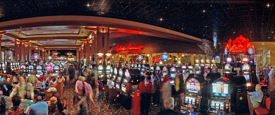 river rock casino how many slots