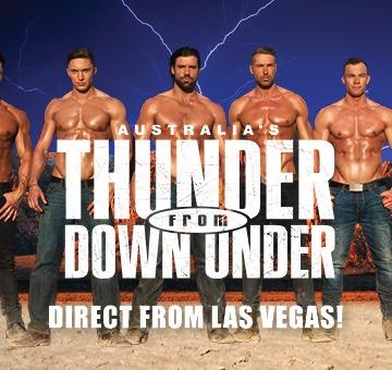 Thunder From Down Under - River Rock Casino Resort